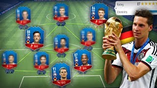 FIFA 18 WORLD CUP: Das BESTE DEUTSCHLAND Team! 🔥😍