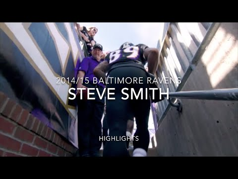 Steve Smith 2014 Ravens highlights