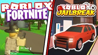ROBLOX FORTNITE ISLAND ROYALE NEW UPDATE! GOING FOR #1 VICTORY ROYALES! | ROBLOX JAILBREAK
