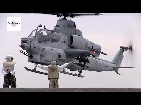 AH-1Z Viper, CH-53E Super Stallion Deck Landing Qualifications