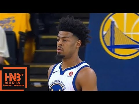 Golden State Warriors vs San Antonio Spurs 1st Qtr Highlights / Game 1 / 2018 NBA Playoffs - 동영상