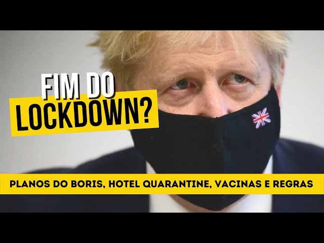 Quando acaba o lockdown em Londres? | Planos do Boris