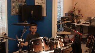 Drum Lessons - Bé Allen Học Trống Điệu Bolero ~ NS Duy Thành 8