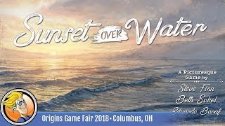 Sunset Over Water — game preview at Origins 2018