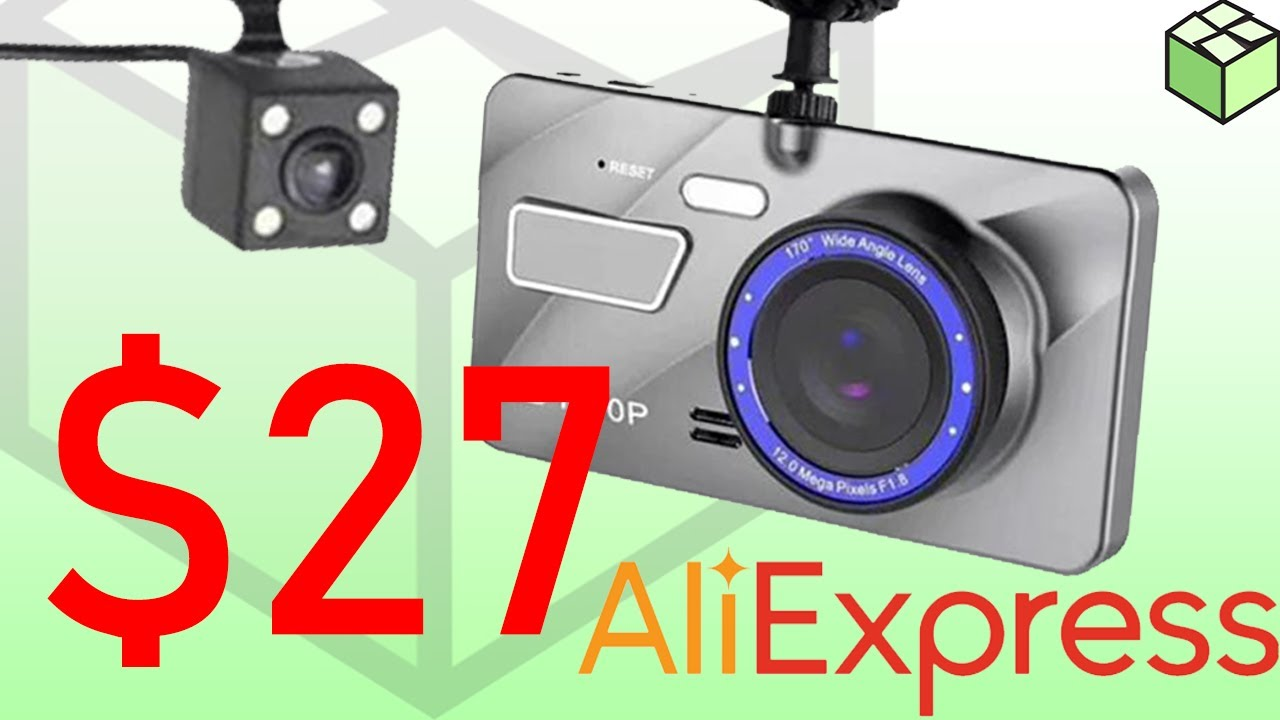 $27 dash cam with parking mode 2019 | Aliexpress | Unboxing & First Look