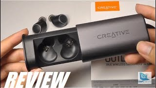 REVIEW: Creative Outlier Air, TWS Wireless Earbuds - Longest Per Charge Battery?