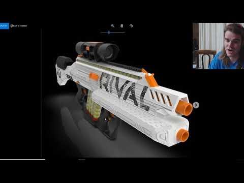 NERF NEWS: Rival Phantom Corps HYPERION (Springer/Flywheel Hybrid)