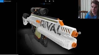 NERF NEWS Rival Phantom Corps HYPERION Springer Flywheel Hybrid