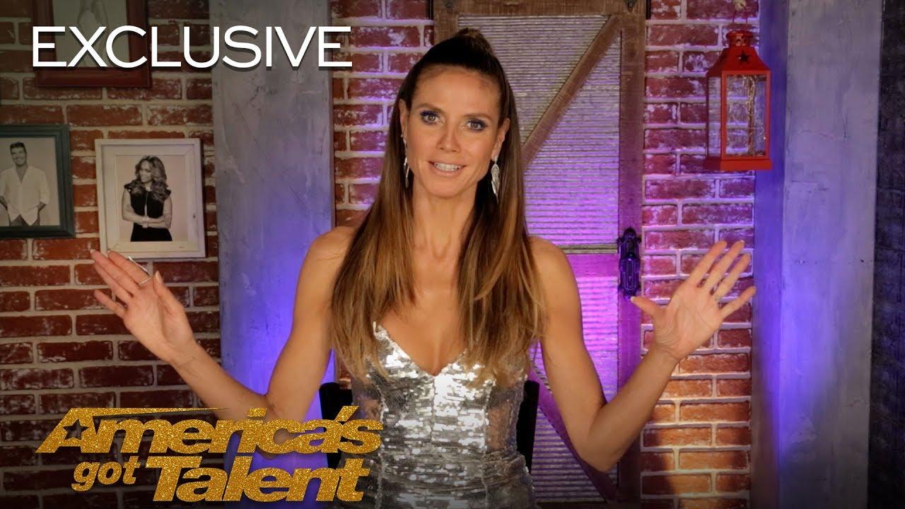 Heidi Klum Believes Her Golden Buzzer, Makayla Phillips, Is A Star - America's Got Talent 2018