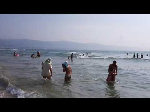 Болгария, Солнечный берег, пляж, июль 2016