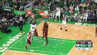 Tacko Fall gets the dunk as TD Garden roars in excitement Oct 13, 2019