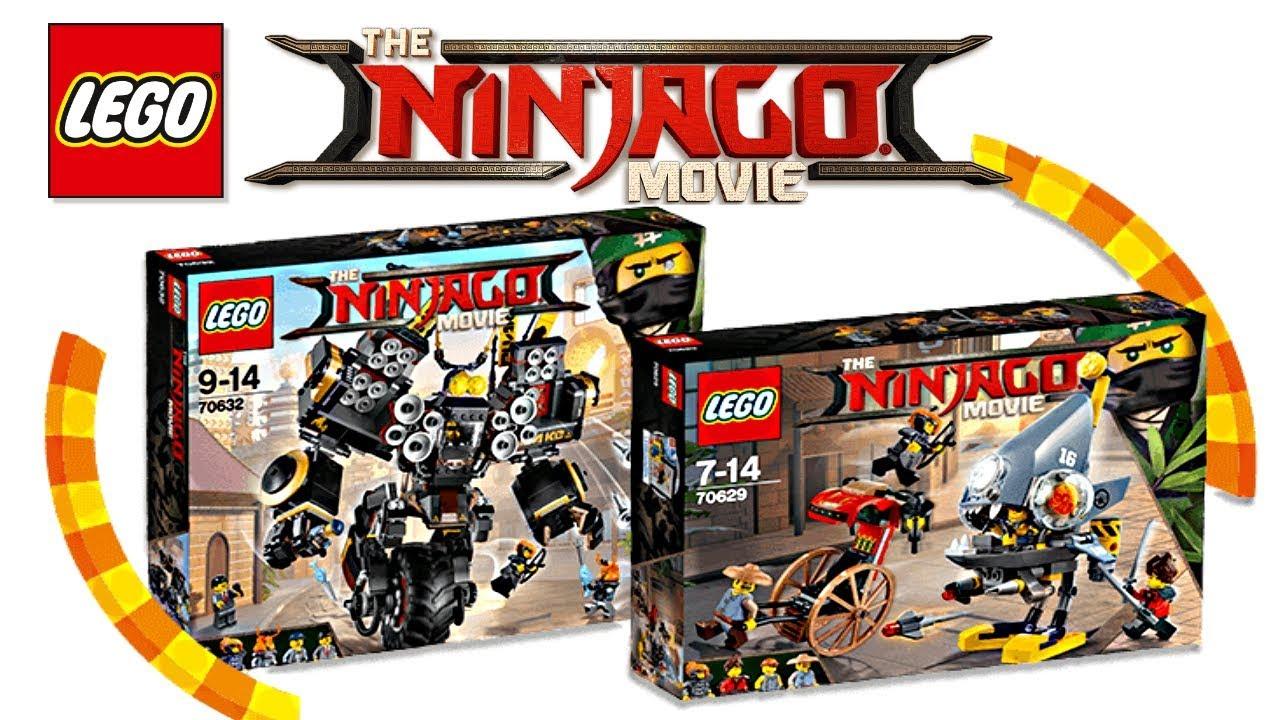 lego ninjago movie 2018 sets revealed youtube