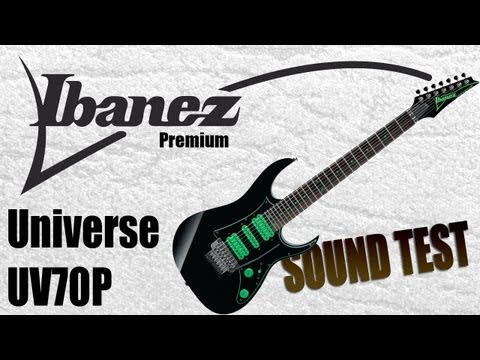 Ibanez Premium Universe UV70P sound test - Neogeofanatic