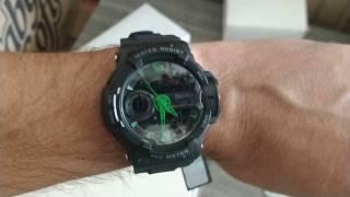 cea66a065d3fb Relógio Masculino X-Games XMPPA176 PXPX Anadigi Preto