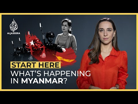 What's happening in Myanmar?  Start Here