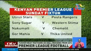 Tusker FC beat Mathare as Hall resigns from AFC