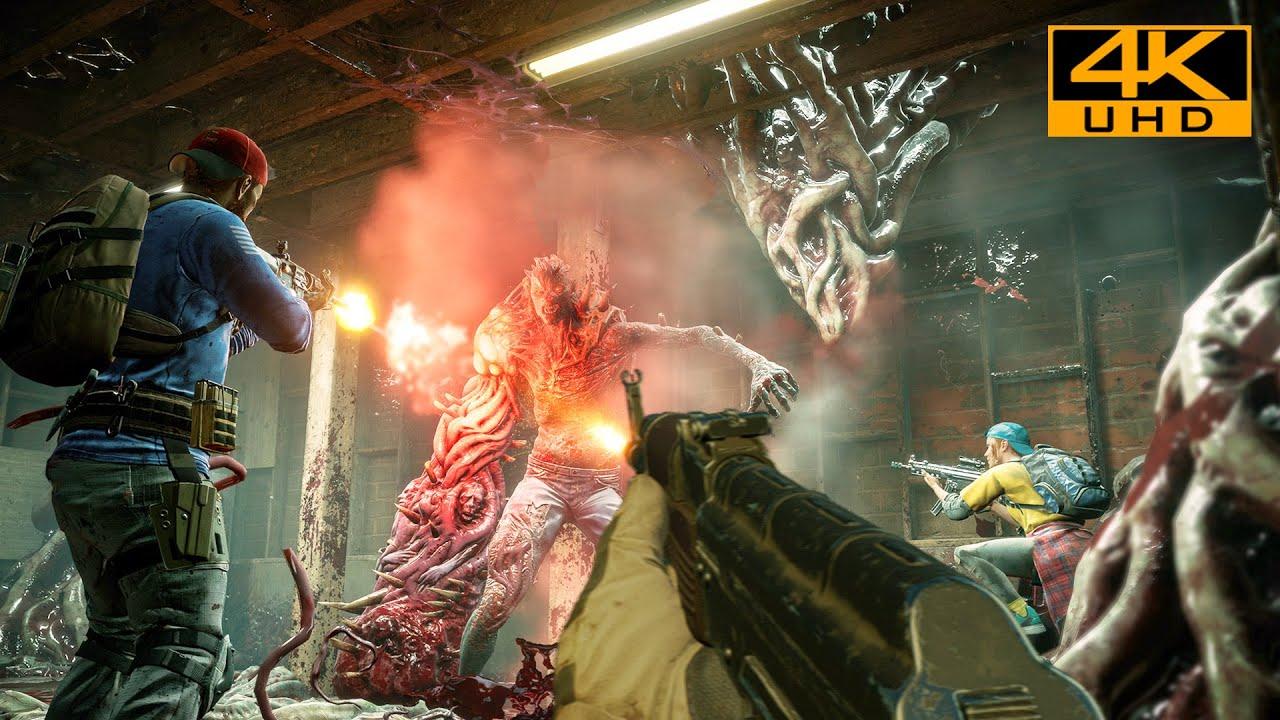 Back 4 Blood (Left 4 Dead 3) Next-Gen Ultra Graphics Gameplay [4K UHD 60FPS]