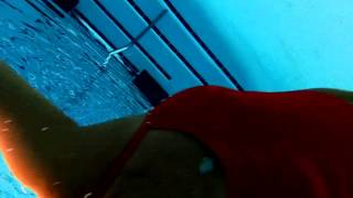 underwater pool swim may 2014