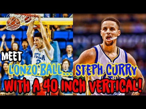 Meet Lonzo Ball: Steph Curry With A 90 INCH VERTICAL!