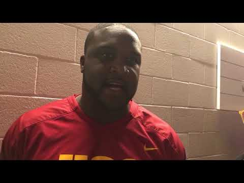 Tee Martin speaks after winning the PAC12 championship