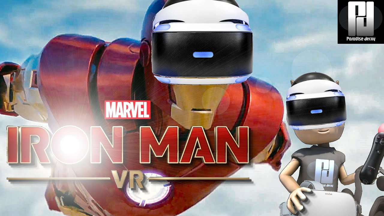 EXCLUSIVE LOOK At IRON MAN VR! - FULL RELEASE Version // PSVR // PlayStation 4 Pro