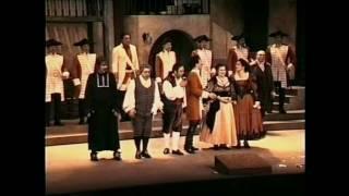 Simone Fermani dirige G. Rossini Il barbiere di Siviglia  Finale Atto I con sistro