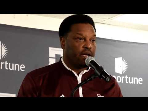Kevin Sumlin reacts to 59-0 loss to Alabama Oct. 18, 2014