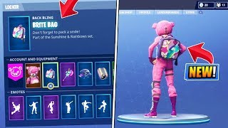 "How To Unlock *NEW* ""Brite Bag"" SECRET CHALLENGE! in Fortnite Battle Royale!"