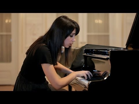 Chopin - Nocturne in F Minor, Op 55, No 1 - Virna Kljaković, piano