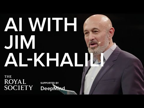 You and AI - with Jim Al-Khalili at the Manchester Science Festival