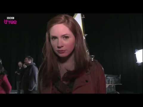 Matt Smith Points A Camera At Karen Gillan - Doctor Who Confidential - BBC Three