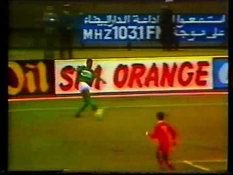 Finale aller Coupe d Afrique des clubs champions 1989 Raja Casablanca- MCOran(Part.2)