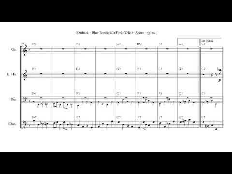 Blue Rondo Ala Turk Sheet Music