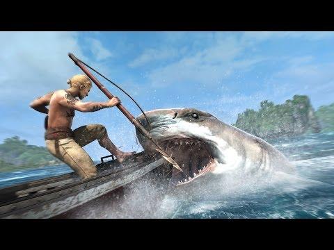 Assassin's creed 4 [Pt1]:จับปลาฉลาม