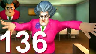 Scary Teacher 3D - Gameplay Walkthrough Part 136 Chapter 3 All New Levels (Android,iOS)