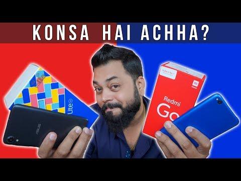 Redmi GO Vs Asus Zenfone Lite L1 ⚡ Kaun Hai Entry Level Ka Raja??