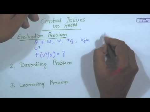 Mod-01 Lec-38 Hidden Markov Model