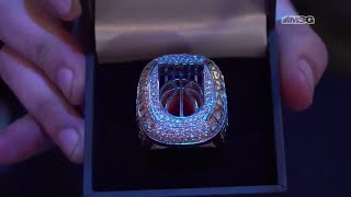 Knicks Gaming Shows Off Their Championship Rings | Knicks Gaming | MSG Networks
