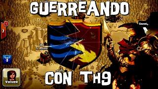 Guerreando con Ayuntamiento 9 | Martes Bélico #16 | Descubriendo Clash of Clans