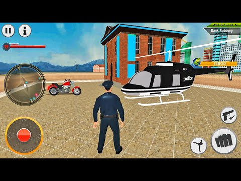 Police Crime Simulator 2020 - City Police Officer Patrol Duty - Android Gameplay