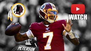Dwayne Haskins 2019-20 Rookie Highlights || Washington Redskins ᴴᴰ