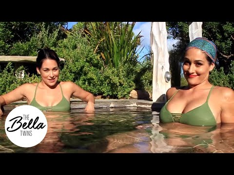 Relaxing in hot springs before WWE Super Show-Down! thumbnail