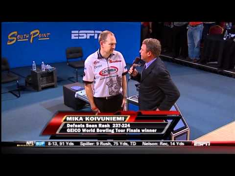 2011 GEICO World Bowling Tour Finals   Post Interview