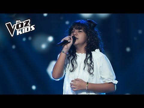 Juliana canta Alguien - Audiciones a ciegas | La Voz Kids Colombia 2018