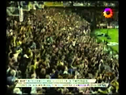 2do. Gol de Palermo a Central (Boca 4-Central 1 10-04-2005)