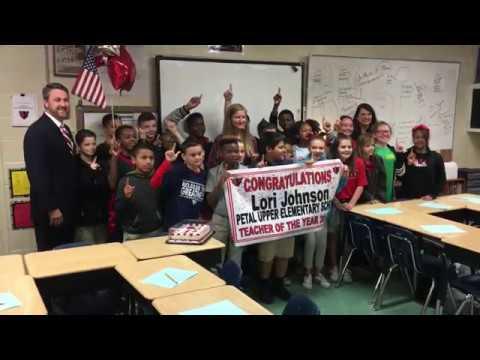 Petal Upper Elementary School Teacher of the Year - Lori Johnson