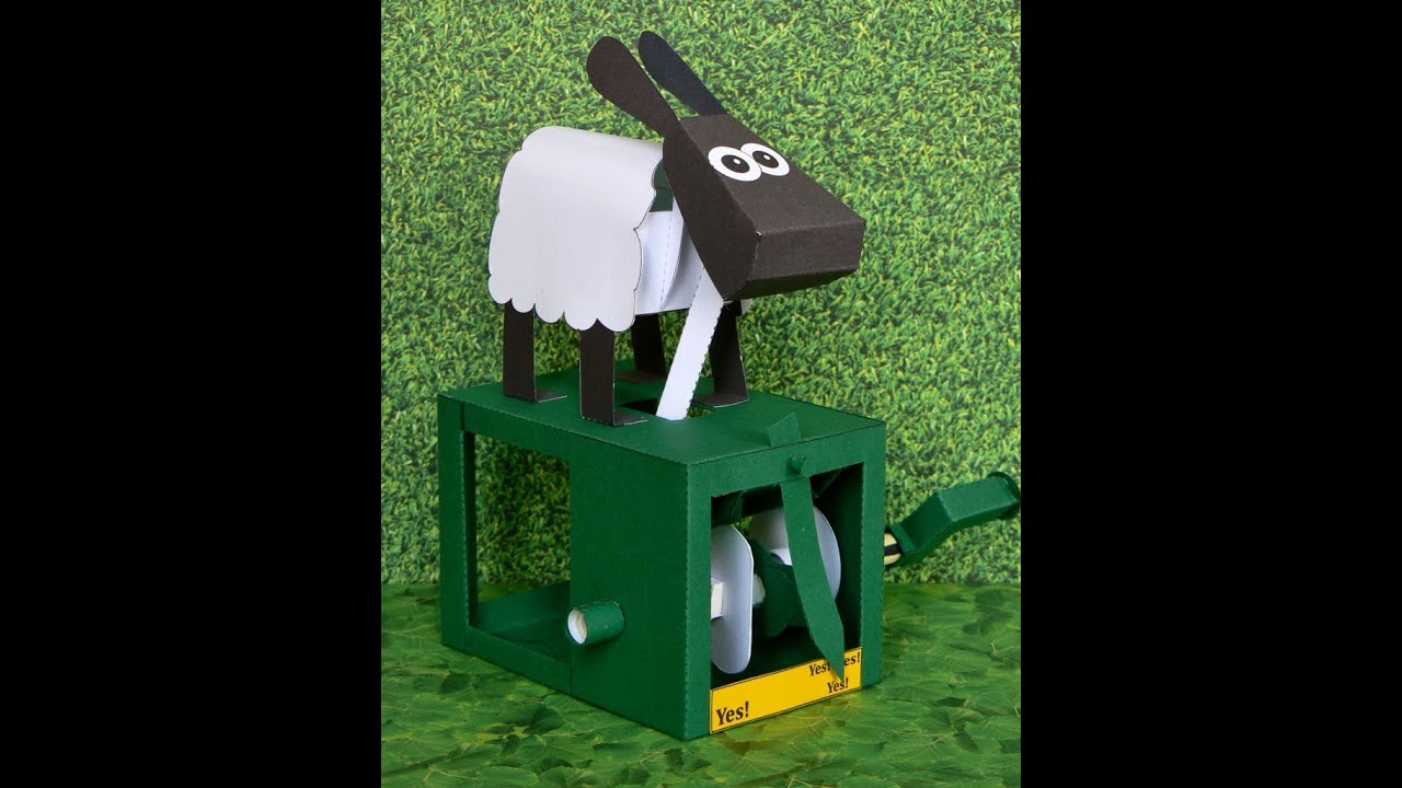 Papercraft Agreeable Sheep new,  paper model