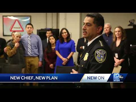 In Profile: Milwaukee's new police chief, Alfonso Morales