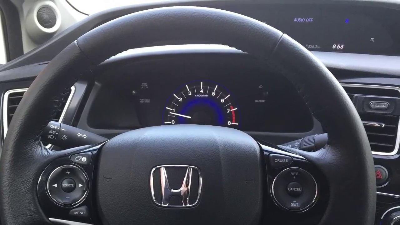 Honda Civic Steering Wheel Defect