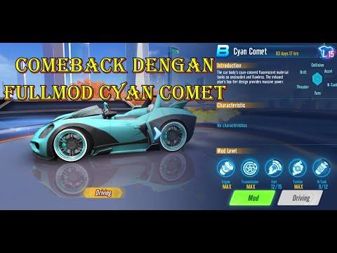 COMEBACK DENGAN CYAN COMET FULL MOD!! - Speed Drifters
